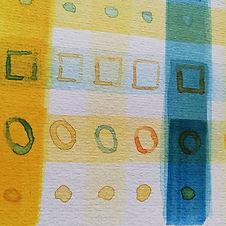 Watercolour glaze play #watercolour #win