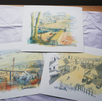 New giclee prints for sale, £35