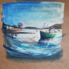 When the Boat Comes In (sold)