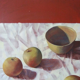 Apples and Bowl
