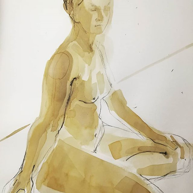 #lifedrawing #figurativeart