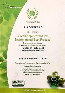 Green Apple Environamental Best Practice Award