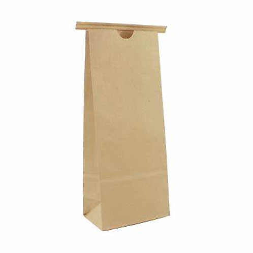 25 x 250g Recyclable Kraft Paper Bags with Tin Tie