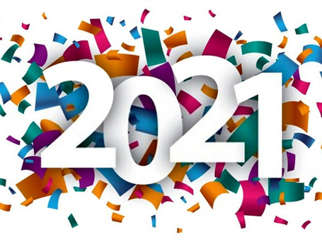HAPPY NEW YEAR - Welcome 2021
