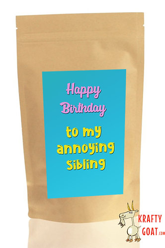 Personalised Tea & Coffee Gifts (Birthday 5)