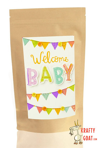 Personalised Tea & Coffee Gifts (New Baby 3)