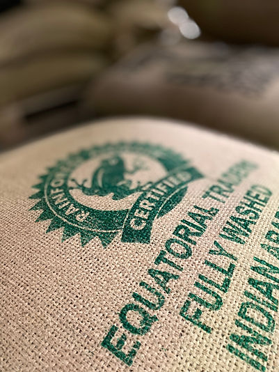 A bag of Certified Coffee Beans