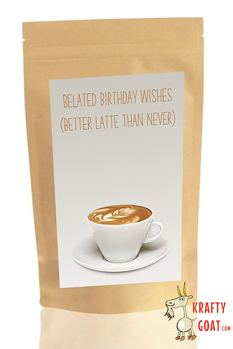 Personalised Tea & Coffee Gifts (Birthday 3)