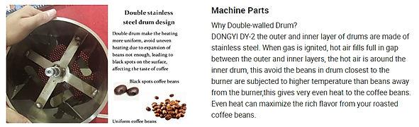 2kg electric coffee roaster