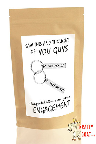 Personalised Tea & Coffee Gifts (Engagement 1)