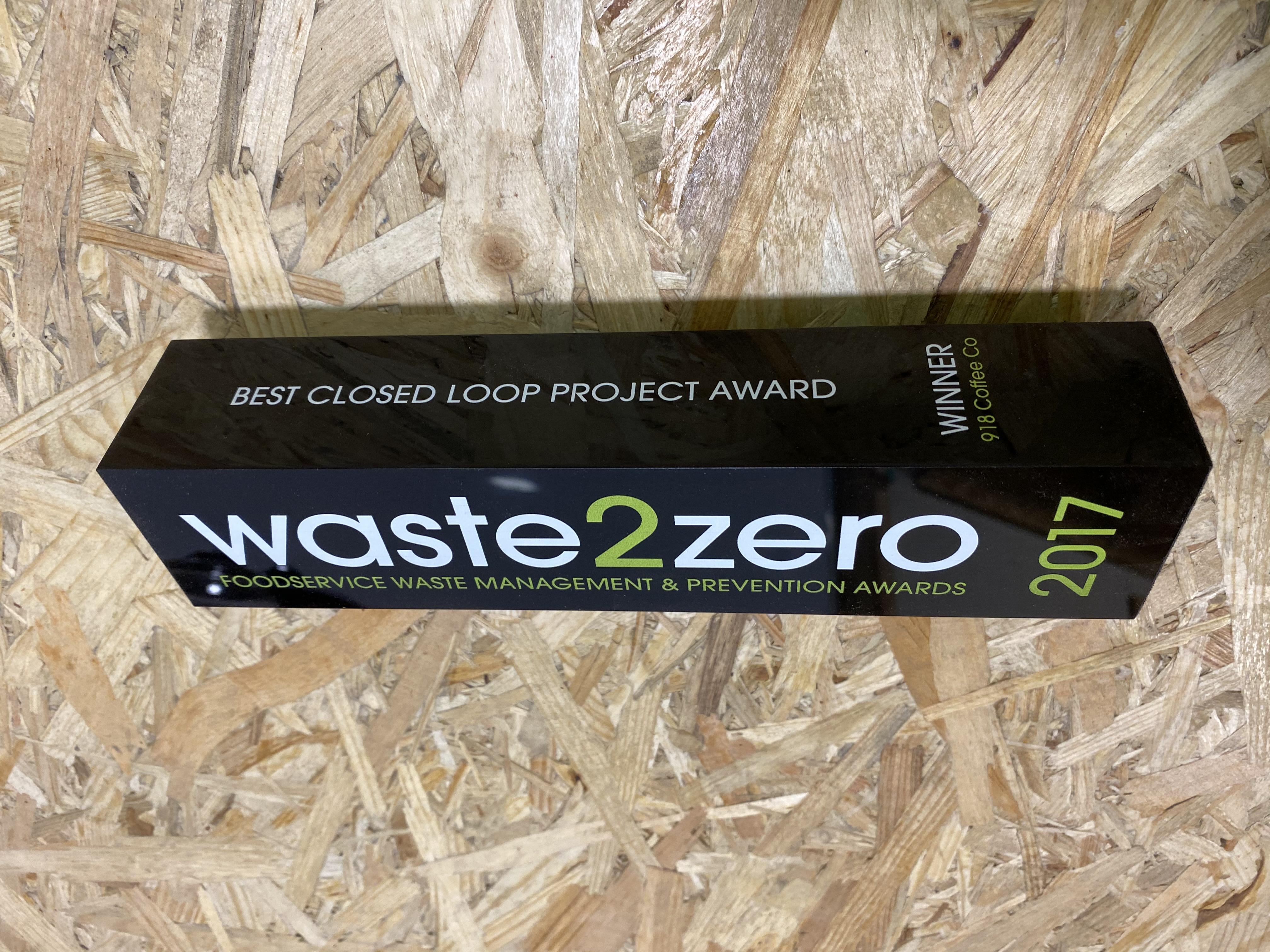 Waste 2 Zero Award 2017