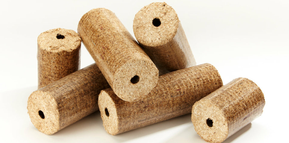 Oak Wood Briquettes for Eco Roast Coffee