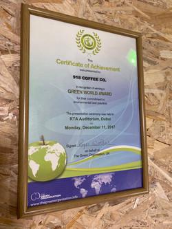 Green World Award