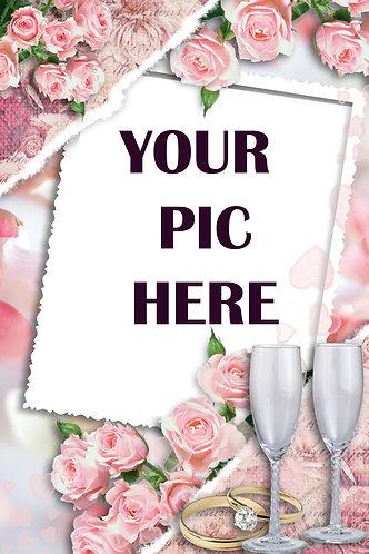 Wedding Frame Pink