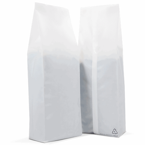 25 x 250g 100% Recyclable Side Gusset Bag with Valve