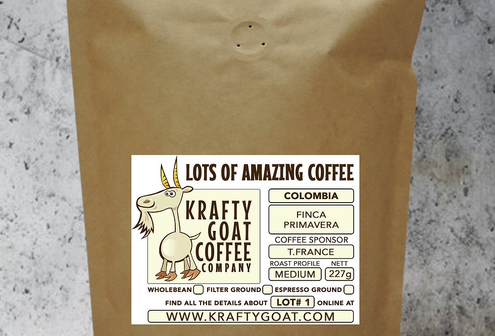 LOT#1 - Oak Roasted Colombia Finca Primavera