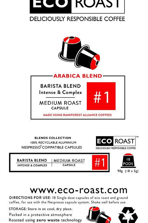 Eco Roast Barista Blend #1 Capsules