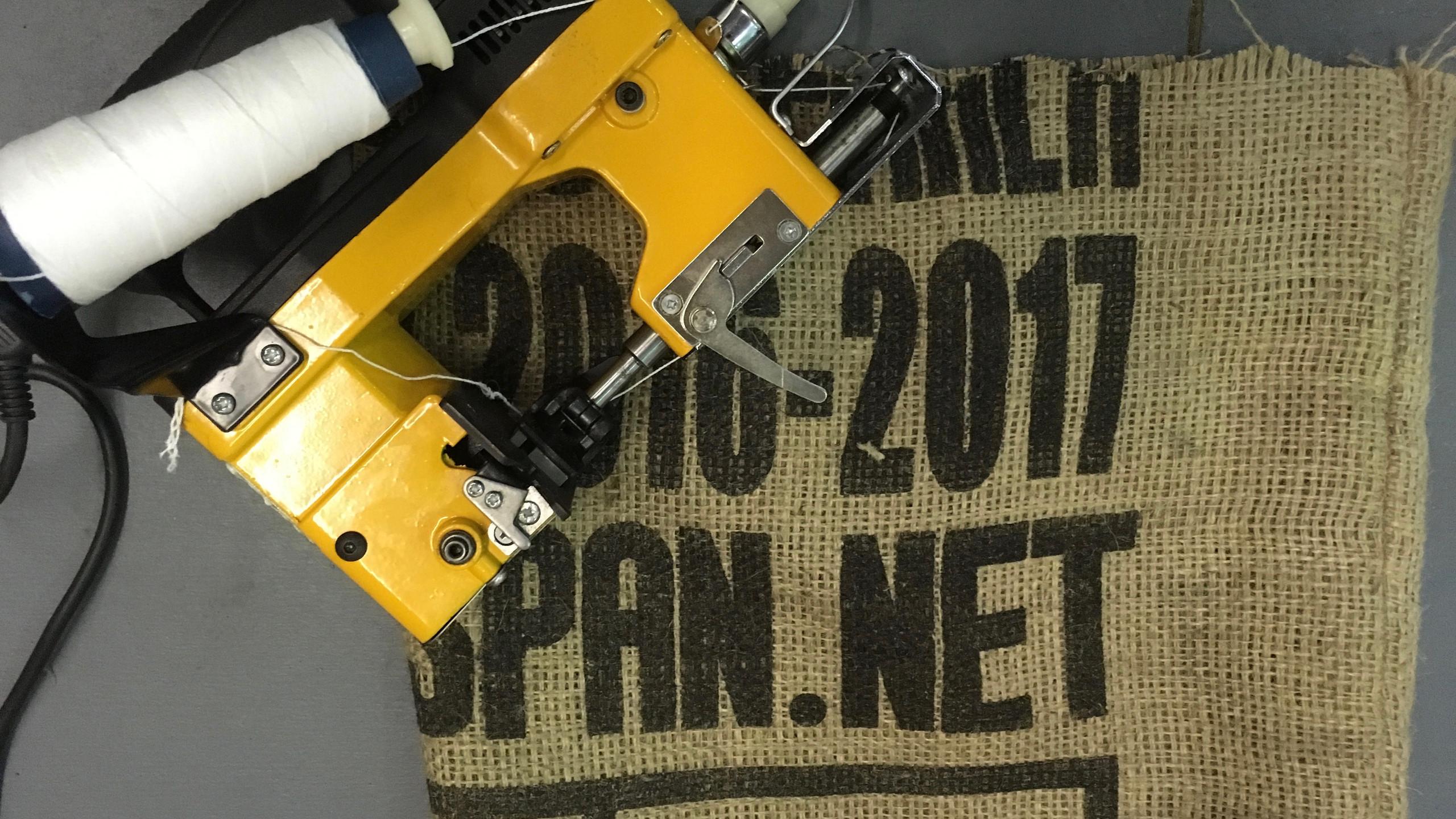 Coffee Bag Stitcher