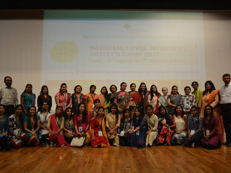 Srujan National Level Women's Painting Workshop