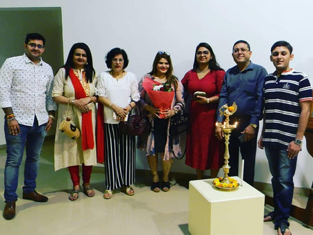 'Mystic Emotions' SOLO Art Exhibition at Nehru Center
