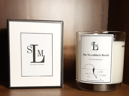 Ros Neamhlach Beach 30cl Soy Candle