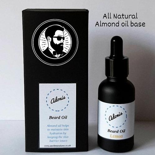 Adonis Beard Oil Lemon 30ml