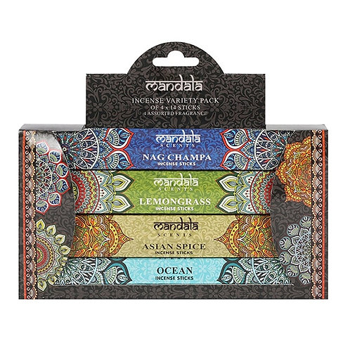 Mandala Incense Stock Gift Set