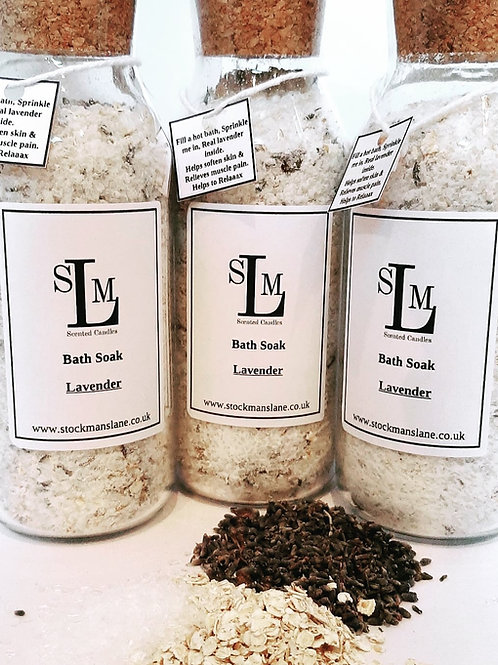 Luxury Lavender Bath Soak