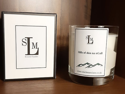 Hills of Dún na nGall 30cl Soy Candle