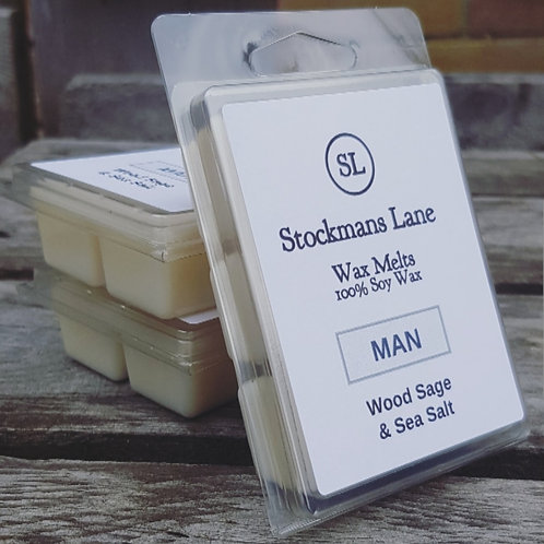 Wood Sage & Sea Salt Wax Melt 85g