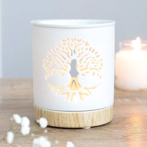 White Tree of Life Burner