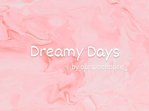 Dreamy Days 30cl Soy Candle by ourweehouse_