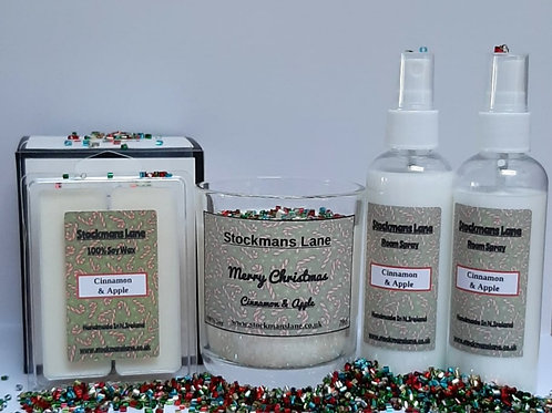 "Christmas Bundle ""Cinnamon & Apple"""