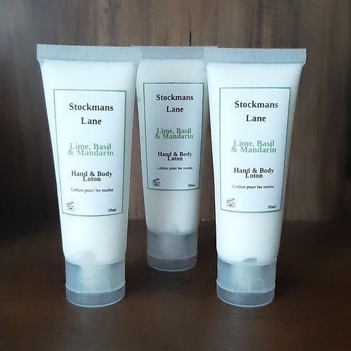 Lime, Basil & Mandarin Hand & Body lotion 50ml