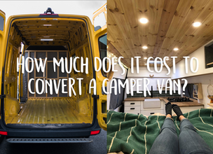 How much does it cost to convert a camper van?