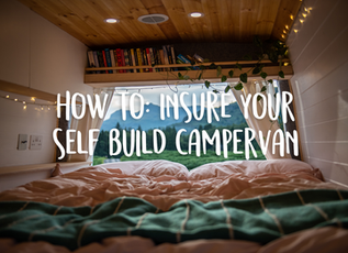 Self-build campervan insurance