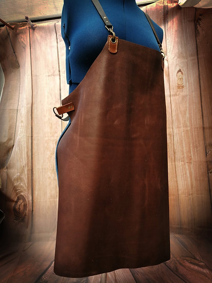 Lightweight Leather Apron