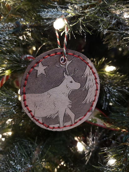 Leather Chistmas Decorations - One