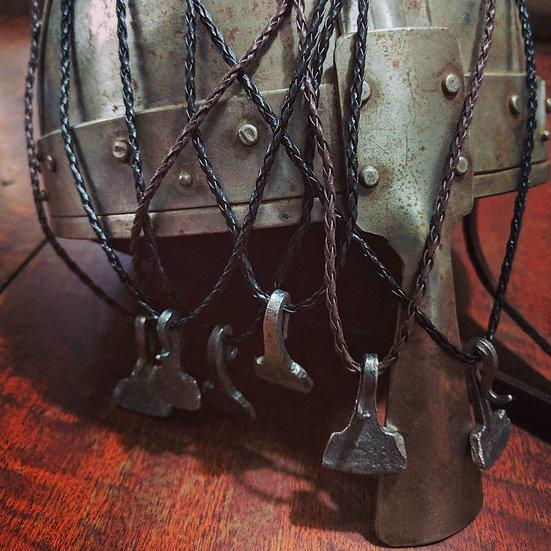Mjolnir pendant - viking iron Thor's hammer Handforged