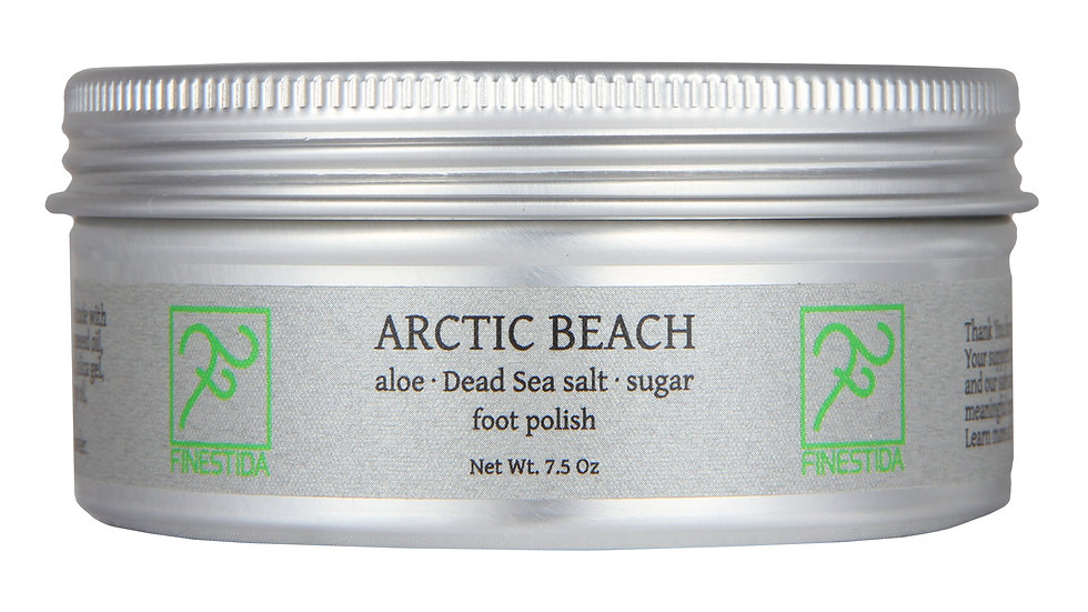 Arctic Beach foot scrub
