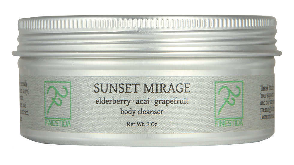 Sunset Mirage body cleanser