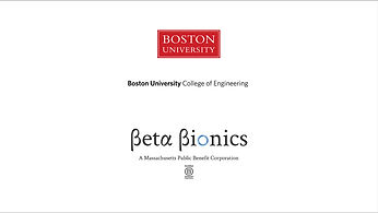 Beta Bionics Boston University College of Engineering