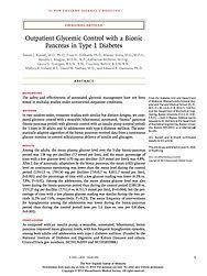Beta Bionics - New England Journal of Medicine