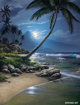 Kauai Moon