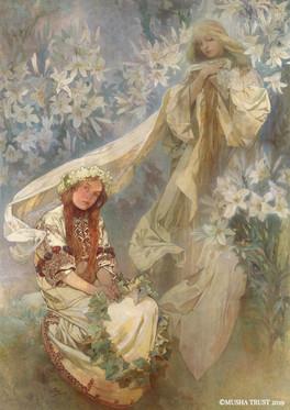 百合の聖母
