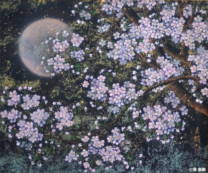 月夜櫻花Ⅰ