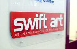 Acrylic Pin Sign