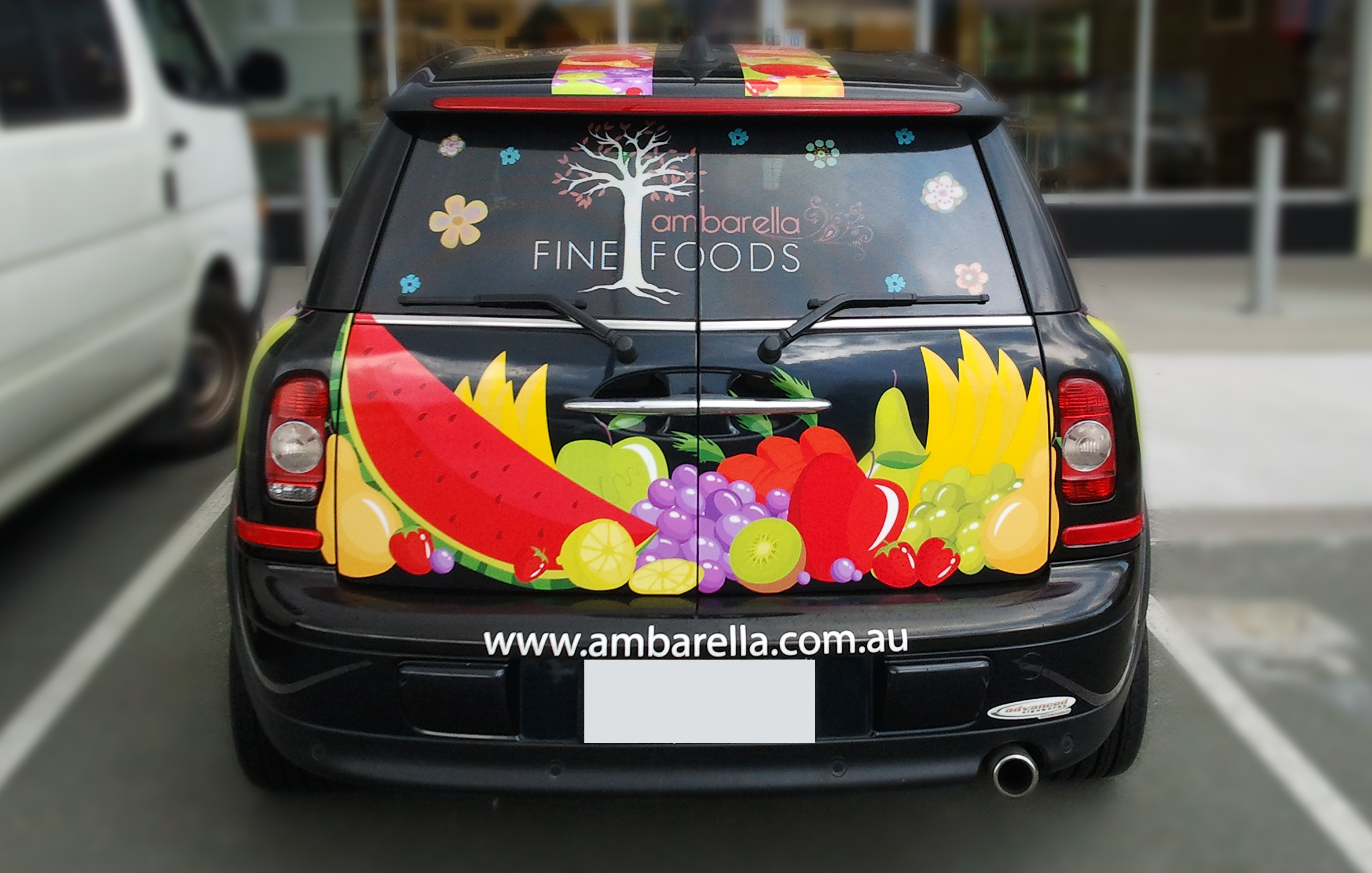 Vehicle Wrap - Back