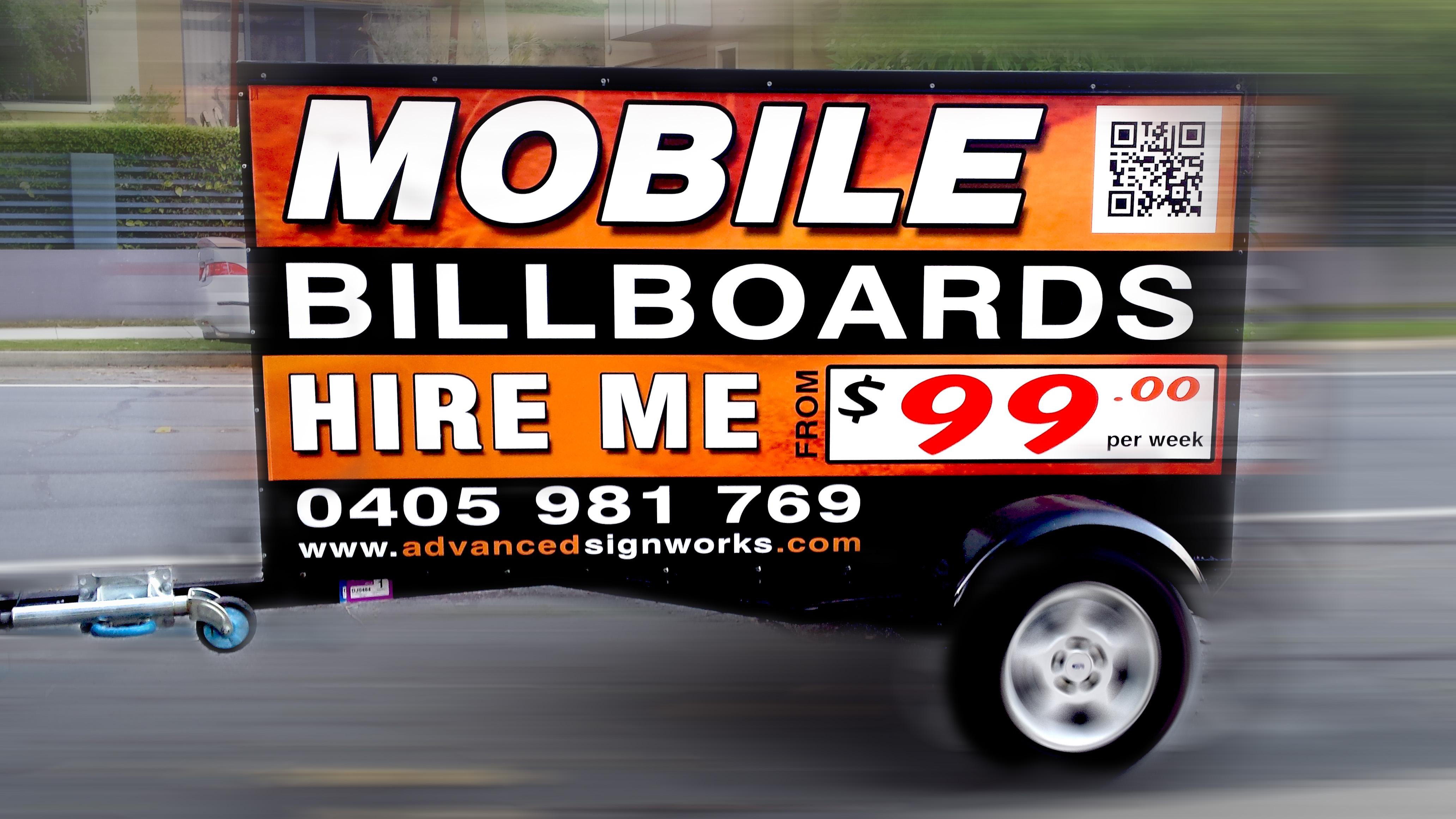 Mobile Billboard Hire