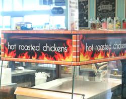 Custom Oven Signage